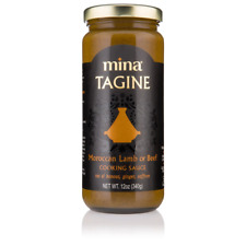 Mina Tagine Moroccan Lamb or Beef Simmer Sauce -12 oz