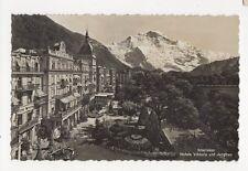 Interlaken Hotels Viktoria & Jungfrau RP Postcard Switzerland 0988