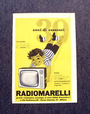 M130- Advertising Pubblicità -1960- RADIOMARELLI , RADIO