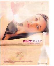 PUBLICITE ADVERTISING  2009  KENZO  senteurs d'un beau monde              160213