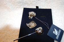 SWAROVSKI Silver Shade Cuff Link  & Tie Pin Set 894465  BEST OFFERS CONSIDERED