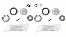 For C230 C250 C32 AMG C55 AMG CLK550 SLK280 Front Wheel Bearing Kit Set Of 2 New