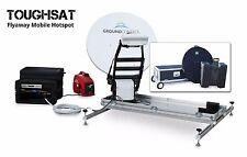 Ground Control Flyaway Toughsat XP 1.2M Portable Satellite Internet Hotspot SET