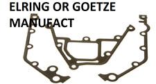 MANUFACT ELRING OR Goetze Engine Timing Cover Gasket Set Lower