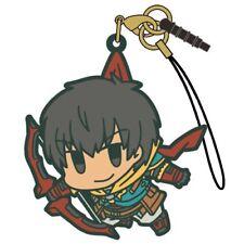 Fate/Grand Order Archer Arash Cospa Tsumamare Character Pinch Rubber Strap
