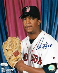 Autographed Boston Red Sox Pedro Martinez signed 8x10 photo original jsa