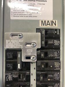 100 Amp Siemans / ITE  KTS-75   Generator Interlock