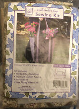 """June Tailor Weekend Bag Sewing Kit Skill Level Easy 15""""x10""""x6"""" Tote Bag"""
