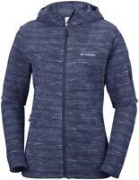 COLUMBIA Fast Trek EL1016591 Warm Full Zip Fleece Jacket Hooded Womens All Size
