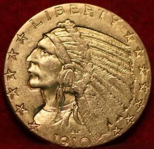 1910-D Denver Mint Gold $5 Coin