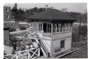 Rail Photo SR LBSC Uckfield station Signal box Sussex Buxted Isfield