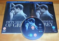 Fifty 50 Shades of Grey DVD (Unseen Edition + Theatrical Edition) Jamie Dornan