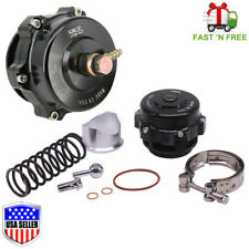 Tial Q BV50 Stye BLACK 50mm Blow off Valve BOV 6PSI + 18PSI Springs - FAST SHIP!