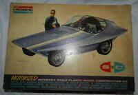 Box only, Lindberg Line SC100 Motorized Experimental Sport Coupe plastic model