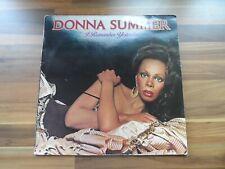 Donna Summer - I remember yesterday - vintage vinyl record LP