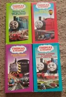 Thomas & Friends Lot of 4 VHS Tapes Red Balloon, James Learns, Jet Engine, Trust