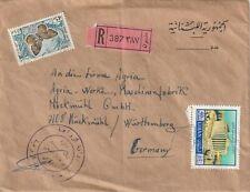 Lebanon cover sent to Muckmuhl,Wurthemberg Germany
