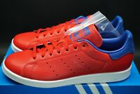 Adidas Stan Smith Scarlet Collegiate Royal Trainers Leather Sneakers OG DS Shoes