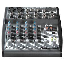 BEHRINGER XENYX 802 mixer professionale 8 canali x studio karaoke NEW garanziaIT