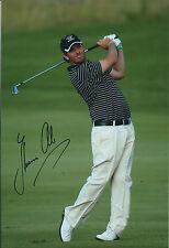 Thomas AIKEN SIGNED Golf Autograph 12x8 Photo AFTAL COA Authentic European Tour