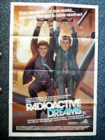 RADIOACTIVE DREAMS Original 1980s Sci-Fi One Sheet Movie Poster