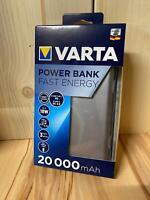 VARTA -  Fast Energy 20000 Powerbank - LiPo 20000 mAh - NEU & OVP