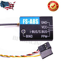 Flysky FS-A8S 8CH Mini Receiver with PPM i-BUS SBUS Output for Drone