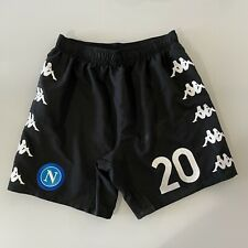 Zielinski Napoli panta indossati Serie A 2020 2021 match worn shorts no shirt