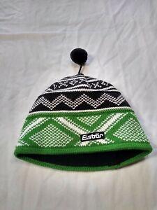 Vintage eistrar Nordic Wool Knit Beanie Hat Fleece Tassel austraian p5