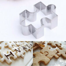 Puzzle Model Fondant Cookie Mold Biscuit Cutter Cake Decor Tool Stainless Steel