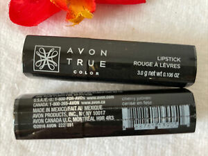 1 AVON TRUE COLOR LIPSTICK CHERRY JUBILEE NEW SEALED 🌺DISCONTINUED