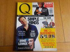 Q MAGAZINE ISSUE NO. 56 MAY 1991 SIMPLE MINDS, ROD STEWART, ANNIE LENNOX