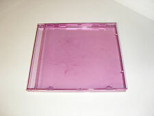 25 Purple Standard CD/DVD Jewel Case Outer Shells-New-No Trays
