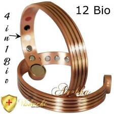 STAMPED PURE SOLID COPPER BIO MAGNETIC BANGLE/BRACELET MEN WOMEN ARTHRITIS CB64X