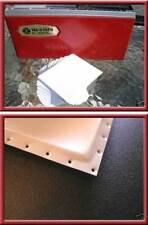 For Mattel Vac-U-Form PVC Sheets White (quantity of 50)