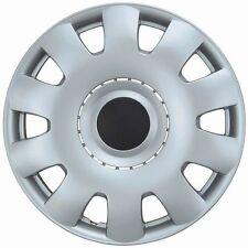 "15"" Inch Silver Hubcaps Wheel Covers Set Of 4 New VW Passat Jetta Golf Replicas"