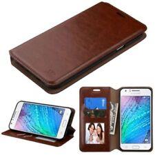 Étuis, housses et coques marron Samsung Galaxy J pour téléphone mobile et assistant personnel (PDA) Samsung