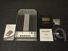 NEW 4215BN Tracer 40A 12/24V MPPT Solar Charge Controller with MT50 Remote Meter