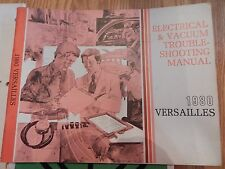 1980 Ford Versailles Electrical & Vacuum Troubleshooting Manual