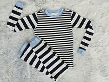 Calvin Klein Size 12 Boy's 2-Piece Pajama PJ Lounge Set Long Sleeve Striped Pant