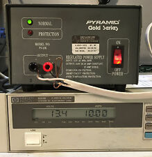 Pyramid Gold Series PS-12K Regulated Power Supply 13.8V DC 10A Load Tested
