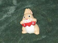 Hallmark Merry Miniature 1994 I Love You Rabbit - Valentine - NEW