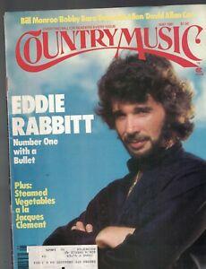 Country Music Magazine May 1981 Eddie Rabbitt David Allan Coe Bobby Bare
