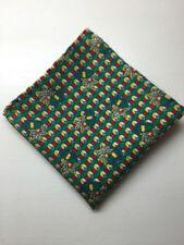 Handmade 100% Silk Pocket Square Handkerchiefs for Men