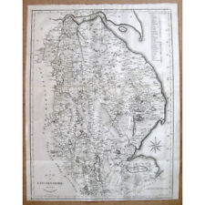 LINCOLNSHIRE - Antique Map 1805 by John Cary From the Best Authorities