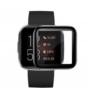 For Fitbit Versa 2 Full Cover Tempered Screen Protector