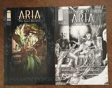 ARIA The Soul Market #6 plus #1 Blanc & Noir Image Comics