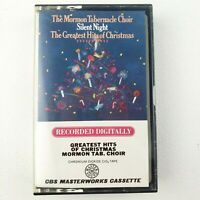 The Mormon Tabernacle Choir - Silent Night - Greatest Hits of Christmas Cassette