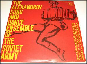 LP VINILE-THE ALEXANDROV SONG DANCE ENSEMBLE OF THE SOVIET ARMY-Volga Booatmen's