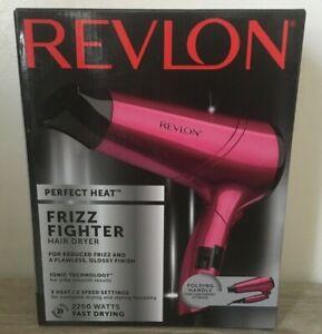 REVLON RVDR5229UK 2200 WATT 2 SPEED FRIZZ FIGHTER FOLDABLE HAIR DRYER BNIB GIFT
